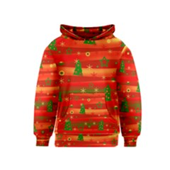 Xmas magic Kids  Pullover Hoodie