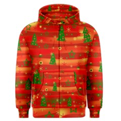 Xmas magic Men s Zipper Hoodie