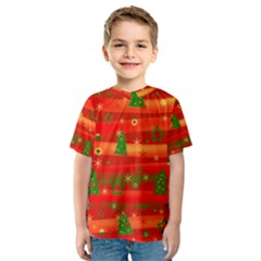 Xmas magic Kids  Sport Mesh Tee