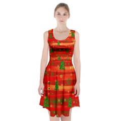 Xmas magic Racerback Midi Dress