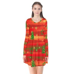 Xmas magic Flare Dress
