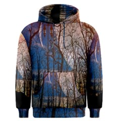 Full Moon Forest Night Darkness Men s Pullover Hoodie