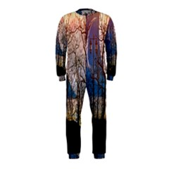 Full Moon Forest Night Darkness OnePiece Jumpsuit (Kids)