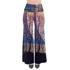 Full Moon Forest Night Darkness Pants