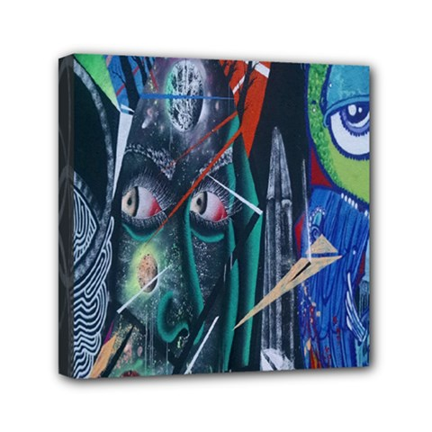 Graffiti Art Urban Design Paint  Mini Canvas 6  x 6