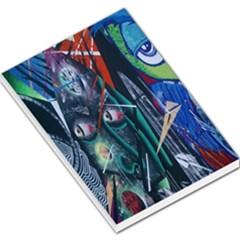 Graffiti Art Urban Design Paint  Large Memo Pads