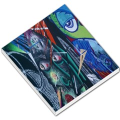 Graffiti Art Urban Design Paint  Small Memo Pads