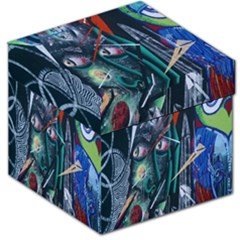 Graffiti Art Urban Design Paint  Storage Stool 12