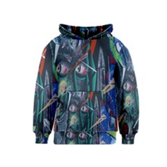 Graffiti Art Urban Design Paint  Kids  Pullover Hoodie