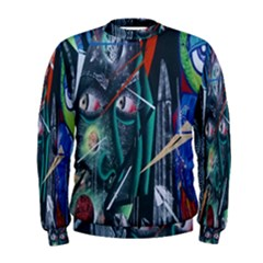 Graffiti Art Urban Design Paint  Men s Sweatshirt