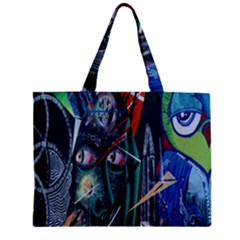 Graffiti Art Urban Design Paint  Zipper Mini Tote Bag