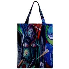 Graffiti Art Urban Design Paint  Zipper Classic Tote Bag