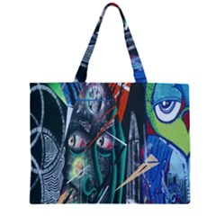 Graffiti Art Urban Design Paint  Large Tote Bag