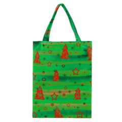 Green Xmas magic Classic Tote Bag