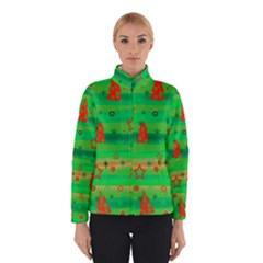 Green Xmas magic Winterwear