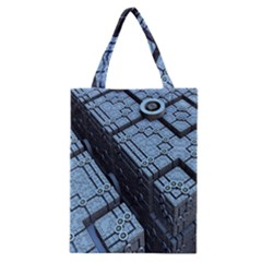Grid Maths Geometry Design Pattern Classic Tote Bag