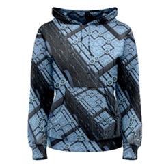 Grid Maths Geometry Design Pattern Women s Pullover Hoodie