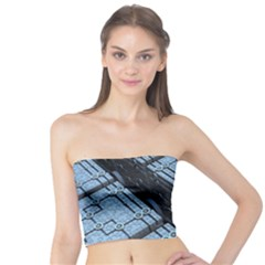 Grid Maths Geometry Design Pattern Tube Top