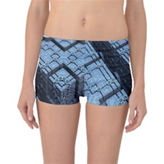 Grid Maths Geometry Design Pattern Boyleg Bikini Bottoms