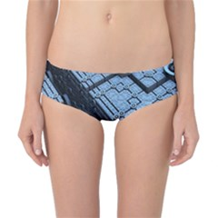 Grid Maths Geometry Design Pattern Classic Bikini Bottoms