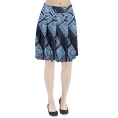Grid Maths Geometry Design Pattern Pleated Skirt