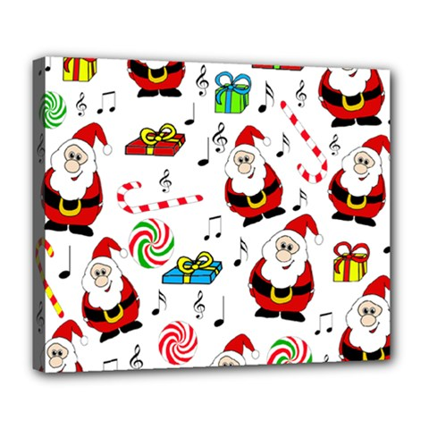 Xmas song Deluxe Canvas 24  x 20