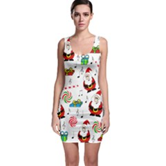 Xmas song Sleeveless Bodycon Dress