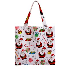 Xmas song Grocery Tote Bag