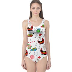 Xmas song One Piece Swimsuit