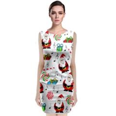 Xmas song Classic Sleeveless Midi Dress