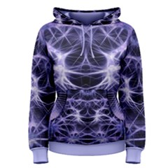 Purple Galaxy   Women s Pullover Hoodie