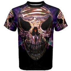 Badass Skull   Men s Cotton Tee