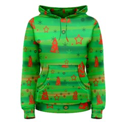Xmas magical design Women s Pullover Hoodie