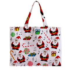 Xmas song Zipper Mini Tote Bag
