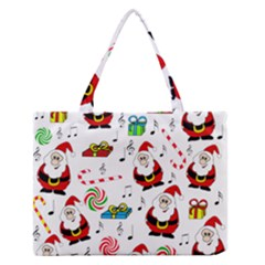 Xmas song Medium Zipper Tote Bag