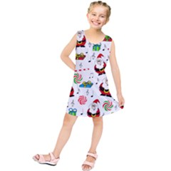 Xmas Song Kids  Tunic Dress