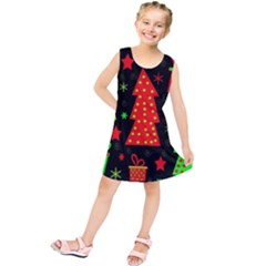 Merry Xmas Kids  Tunic Dress
