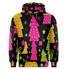 Colorful Xmas Men s Pullover Hoodie