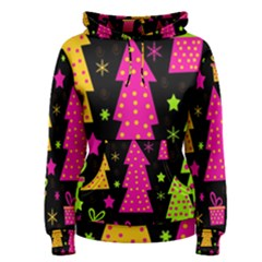 Colorful Xmas Women s Pullover Hoodie