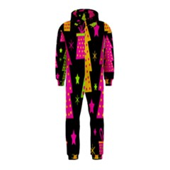 Colorful Xmas Hooded Jumpsuit (Kids)