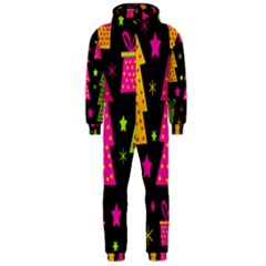 Colorful Xmas Hooded Jumpsuit (Men)