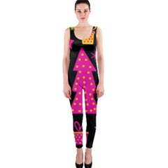 Colorful Xmas OnePiece Catsuit