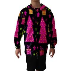 Colorful Xmas Hooded Wind Breaker (Kids)