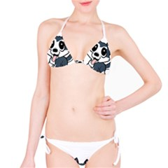 Pomsky Cartoon Bikini Set