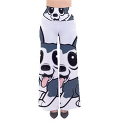 Pomsky Cartoon Pants