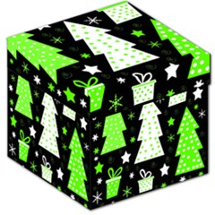 Green Playful Xmas Storage Stool 12