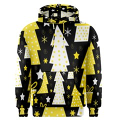 Yellow playful Xmas Men s Pullover Hoodie