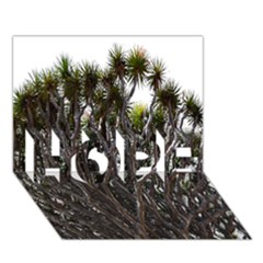 Inflorescences HOPE 3D Greeting Card (7x5)