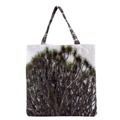 Inflorescences Grocery Tote Bag