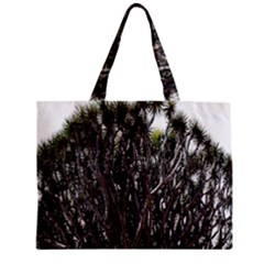 Inflorescences Zipper Mini Tote Bag